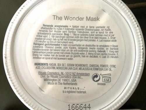 rituals wonder mask