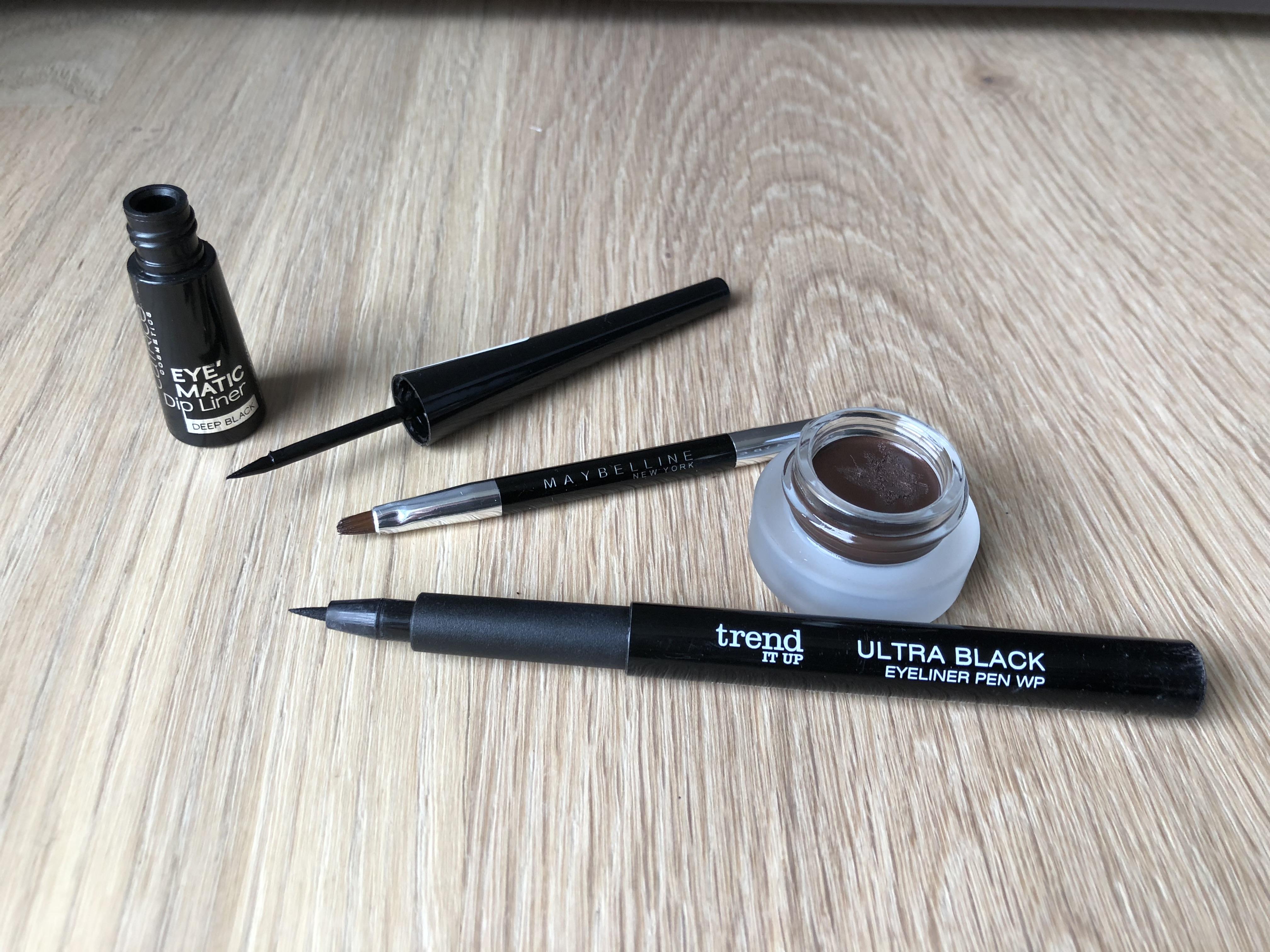 Eyeliner - Gel, Liquid oder Pen Eyeliner